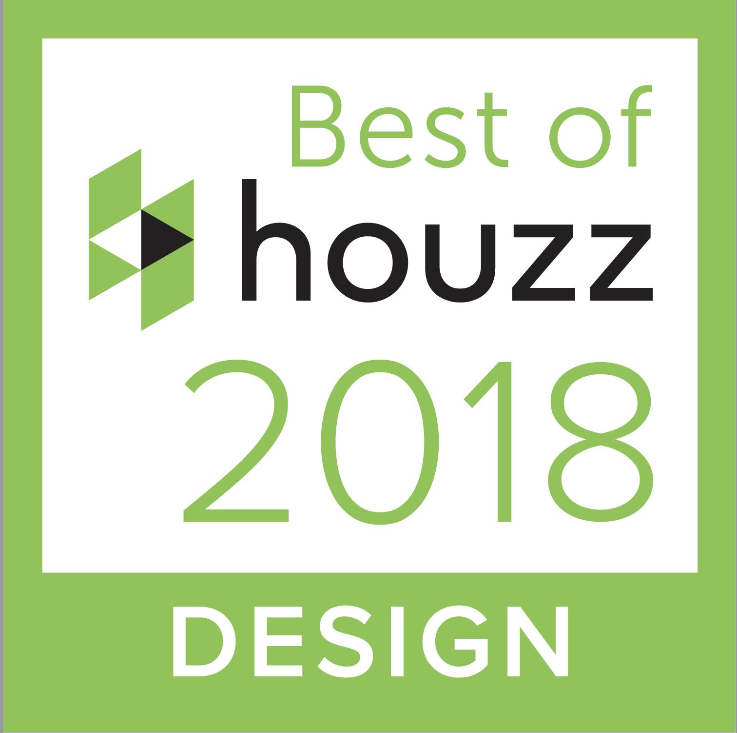 SRJ voted Best of Houzz Design, 2018