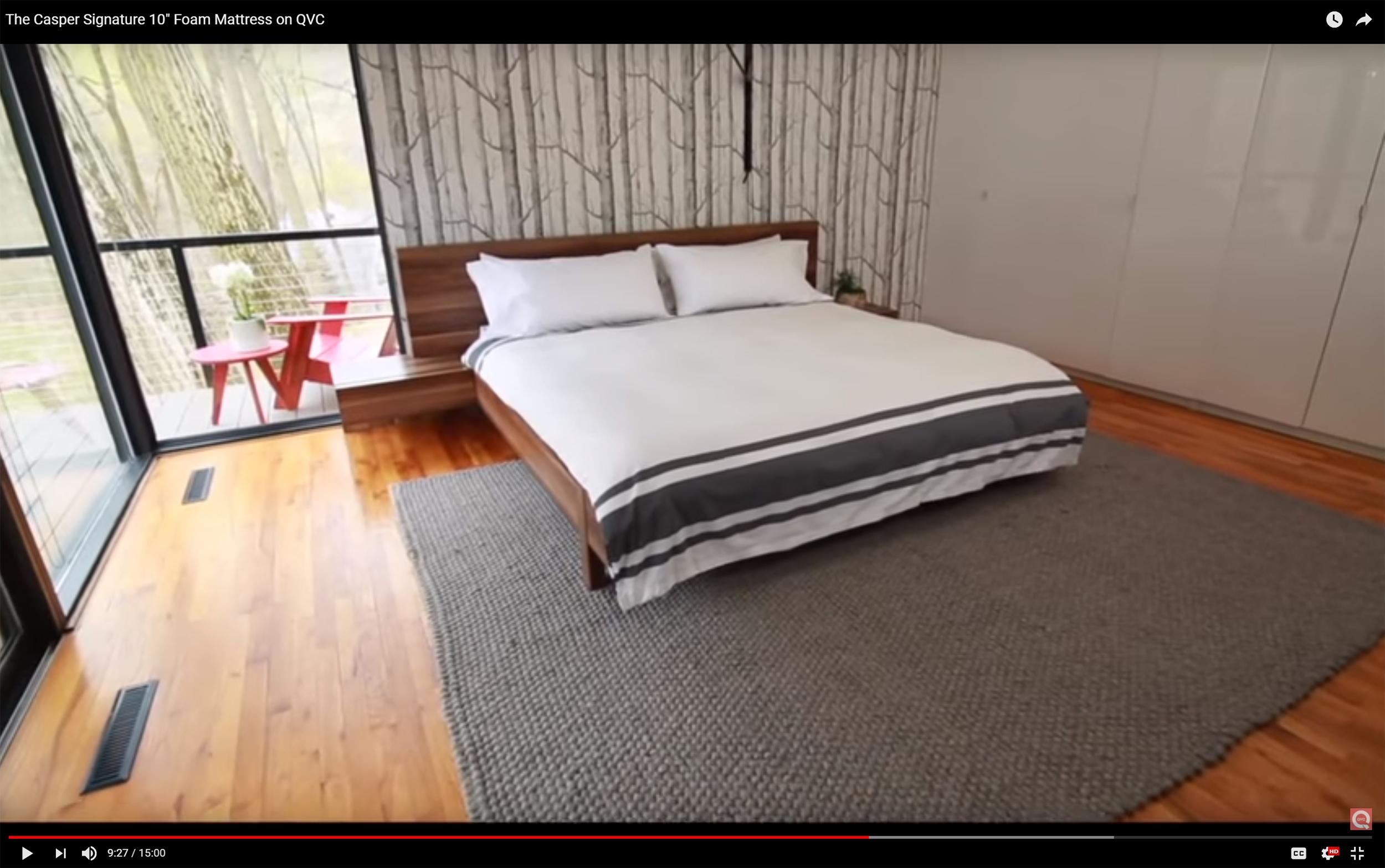 McELROY RENOVATION featured on QVC for Casper Mattress segment