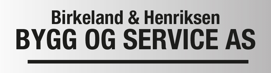 Birkeland & Henriksen Bygg og service AS