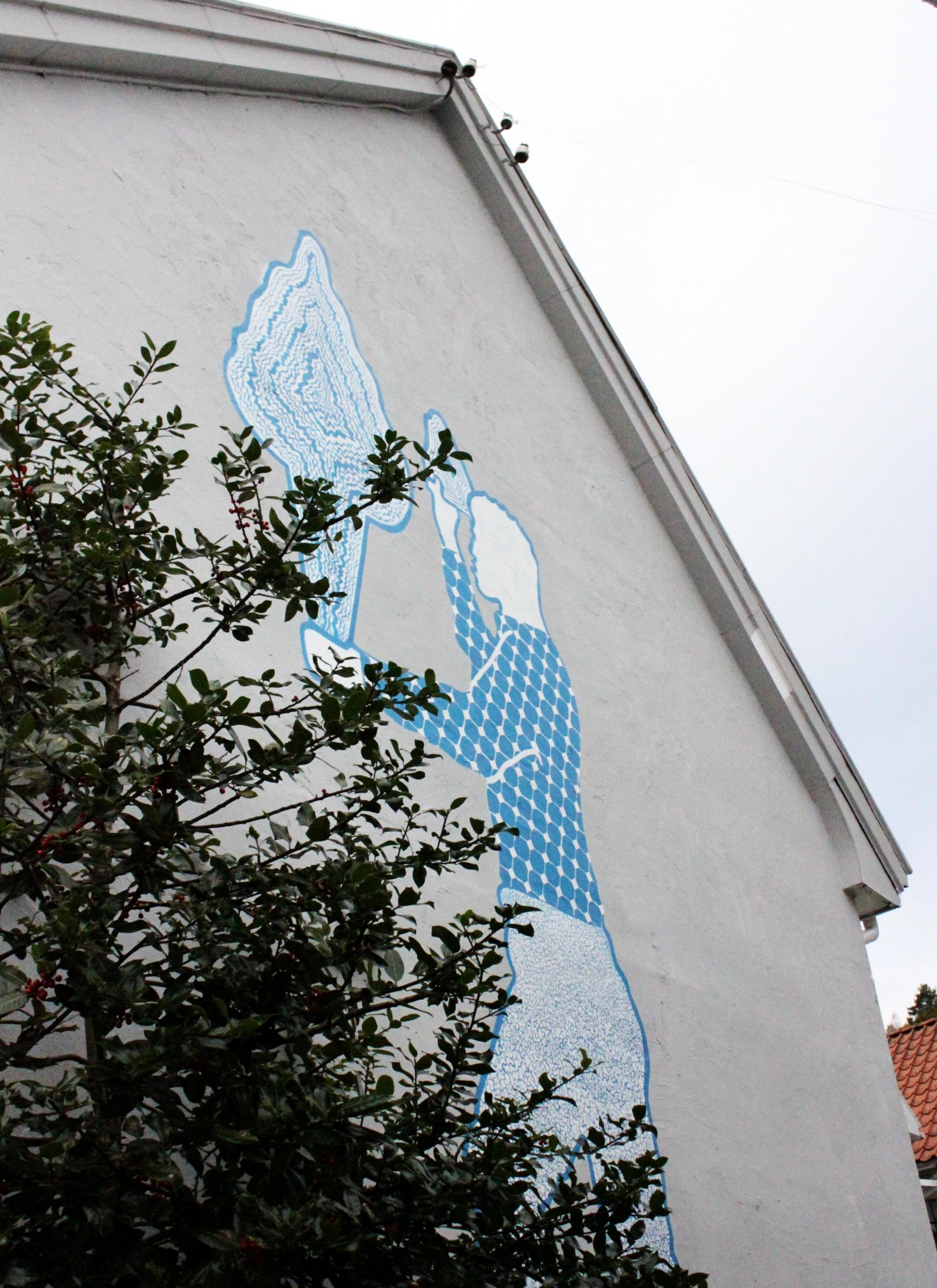 """2016: Vebjørn Hommesdal Moi. """"Ola dekksgutt"""". Nesgaten ."""