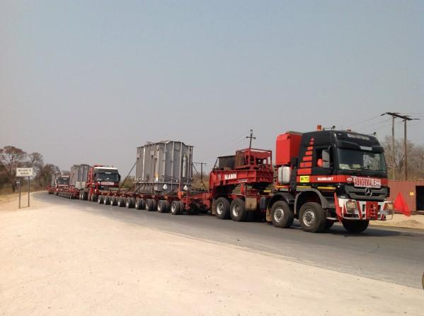 Convoy near WENELA