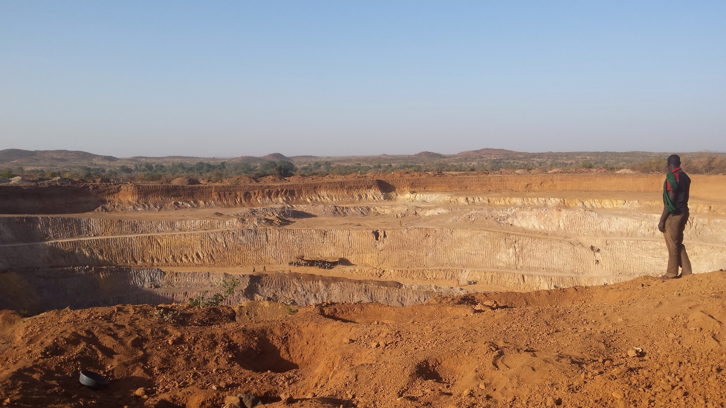AMARA gold mine in Bakou, Burkina Faso (photo: Muriel Côte, December 2014)