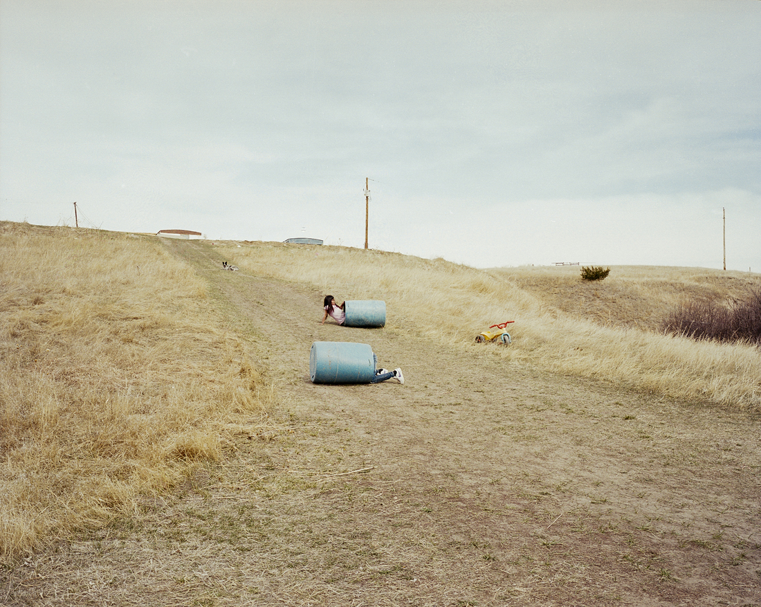 Wounded Knee. Pine Ridge Indian Reservation, South Dakota, 2012.    3 of 5