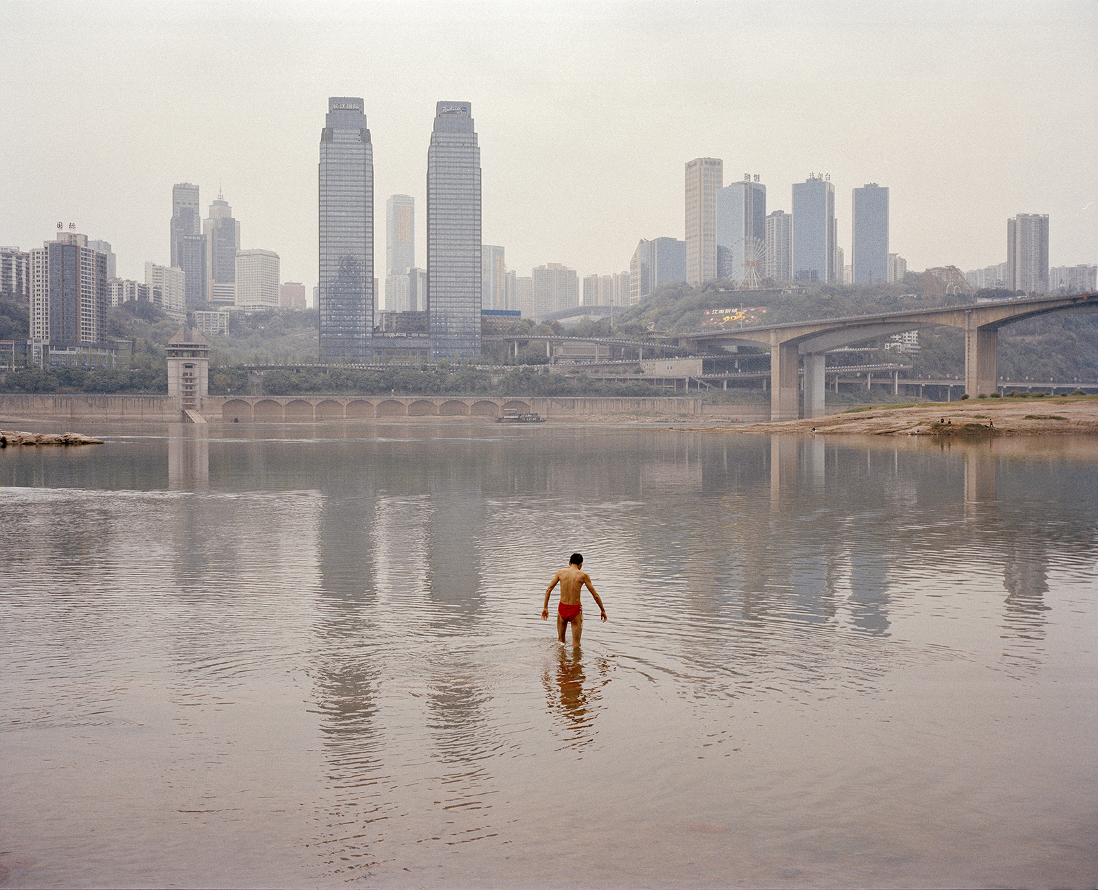 The Yangtze River. Chongqing, China, 2015.
