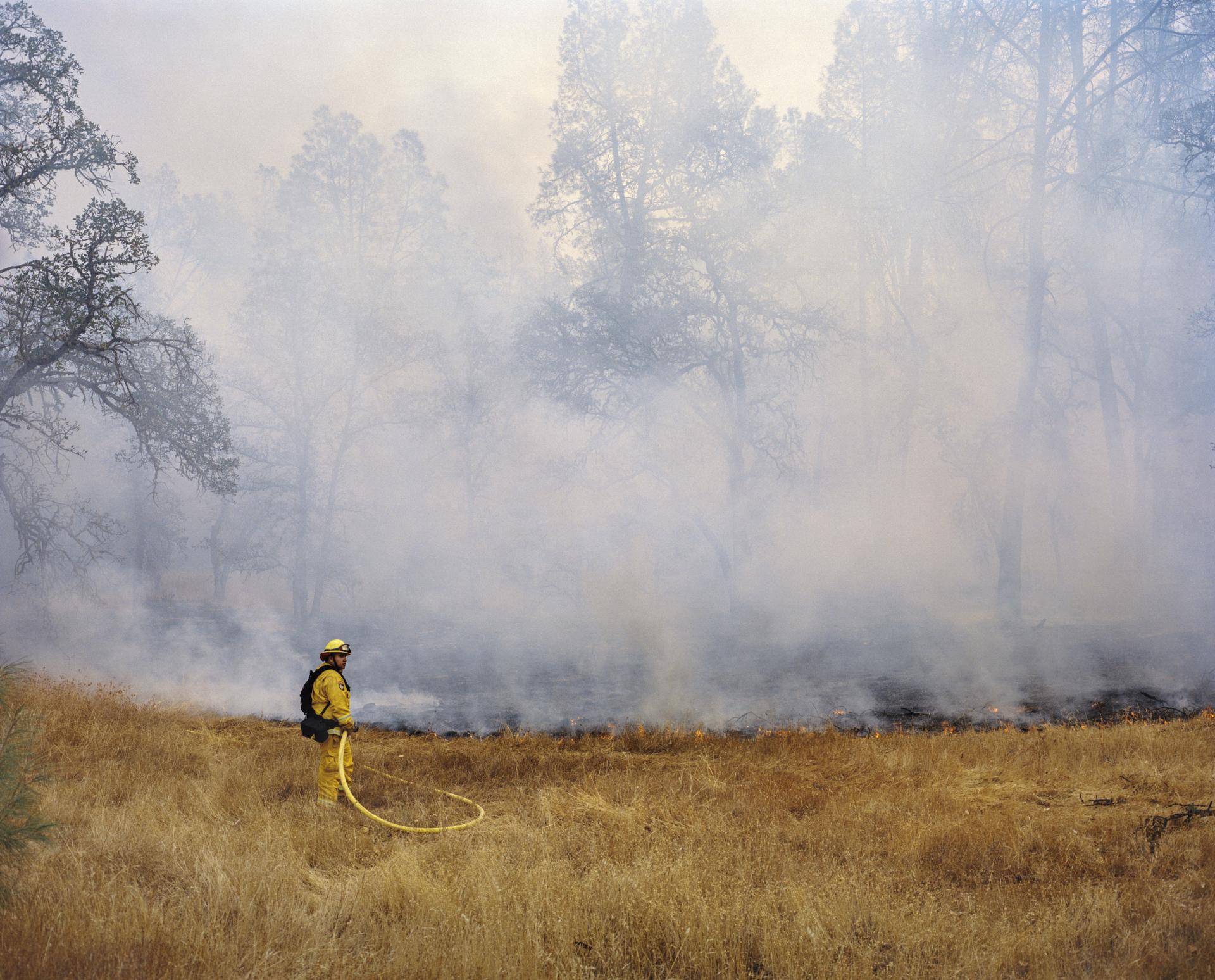 Lake County Fire. California, USA, 2015.