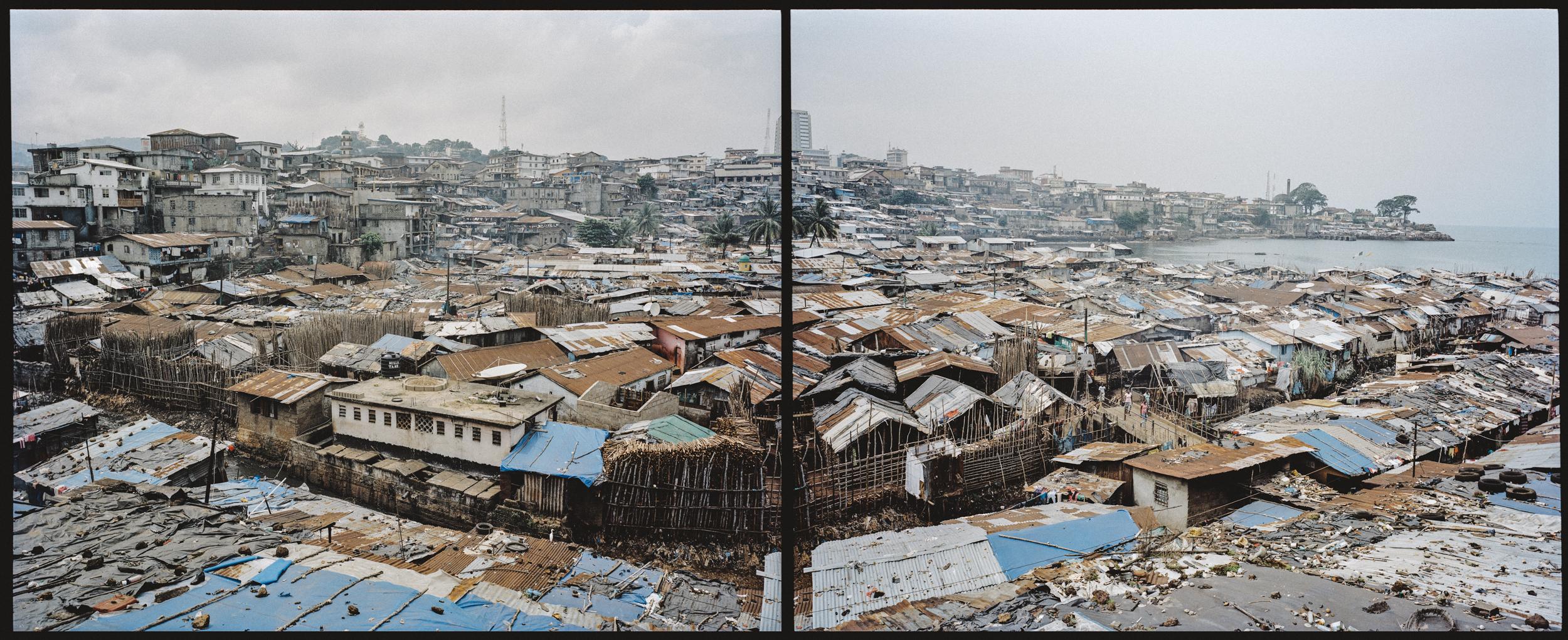 Kroo Bay. Freetown, Sierra Leone, 2012.