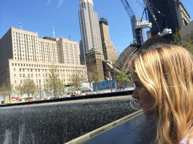 Photo of the 9/11 Memorial