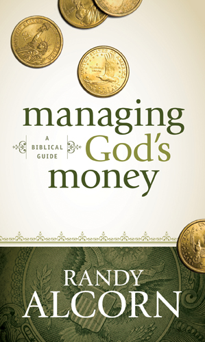 Managing God's Money by: randy Alcorn  buy on amazon
