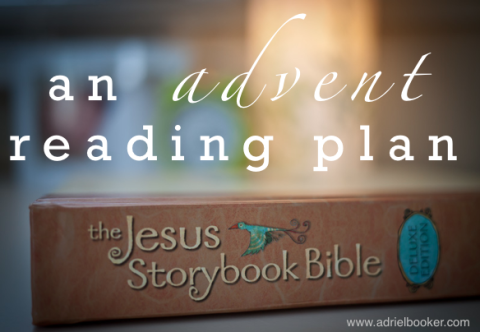The Jesus Storybook Bible daily bible reading plan geared toward kids and families