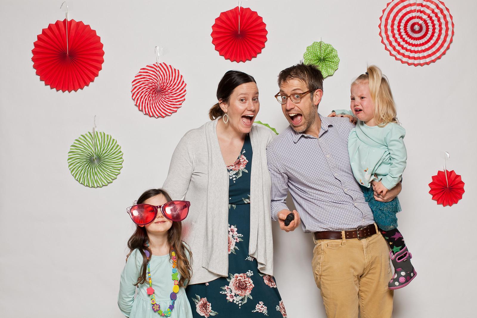 The Pratt family - Tahlia, Krysten, Steve, and Seraphina.