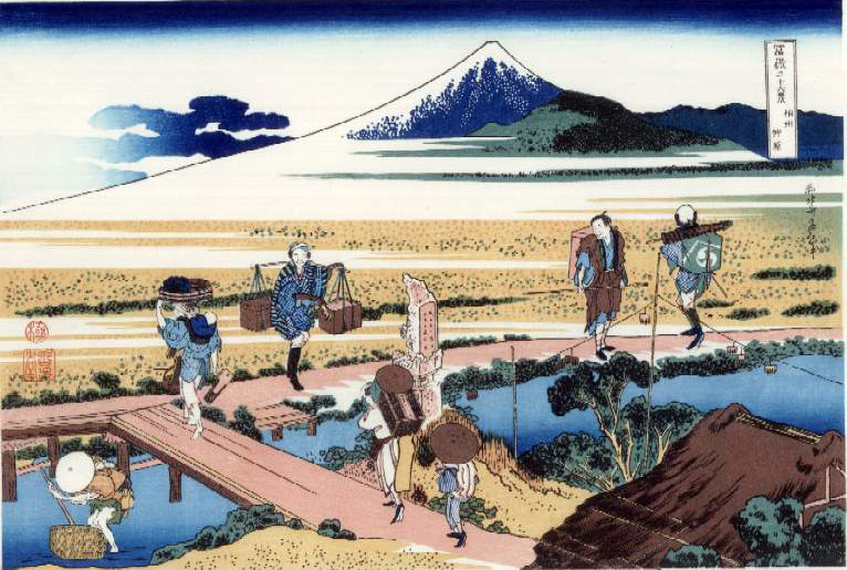Soshu Nakahara, Hokusai