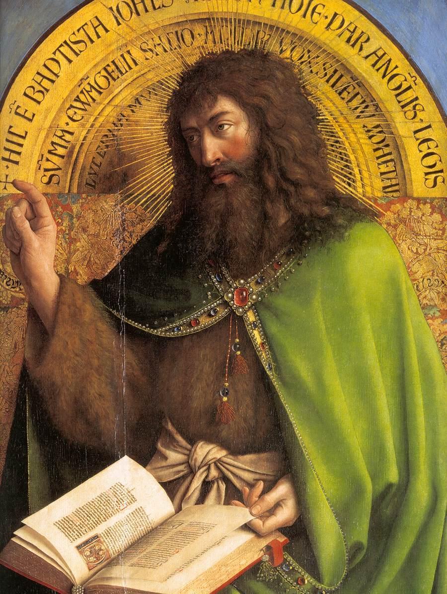 Jan van Eyck - The Ghent Altarpiece - St John the Baptist