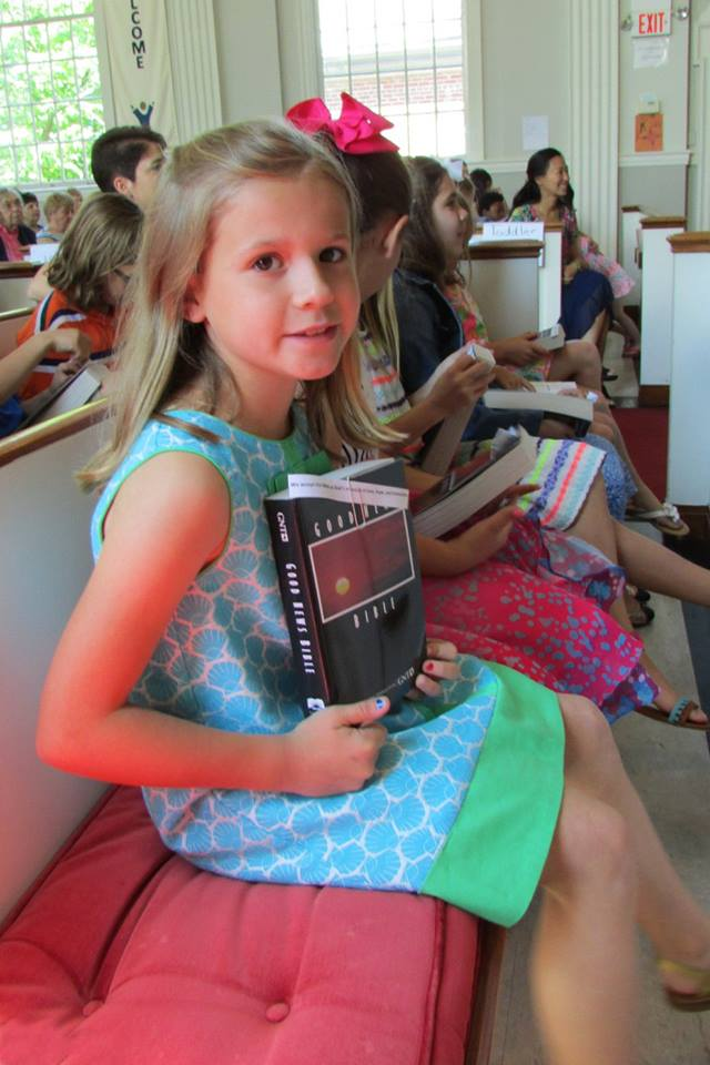 third graders with Bible.jpg