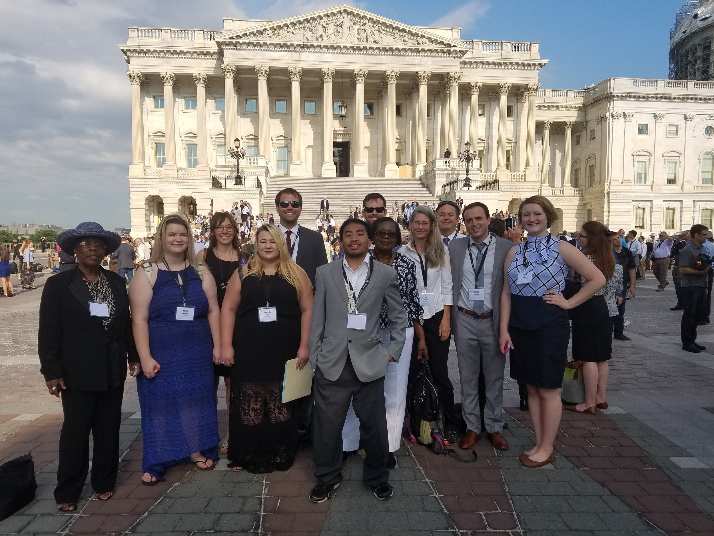 Members of Arkansas Citizens' Climate Lobby traveled to Washington, D.C. June 19th-21st for the Citizens' Climate Lobby National Conference and lobby day. They spent two days at the conference educating and motivating each other and the third day CCL citizen lobbyists met with every congressional office in D.C. to discuss carbon pricing.