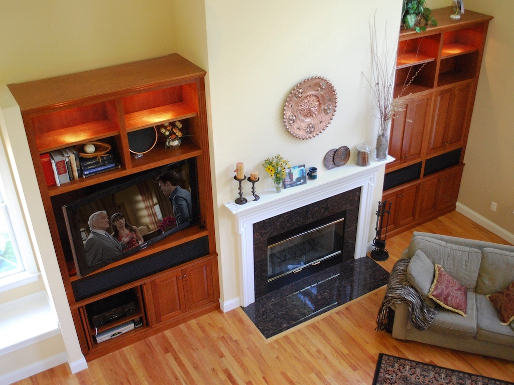 Built-In Media Wall Unit