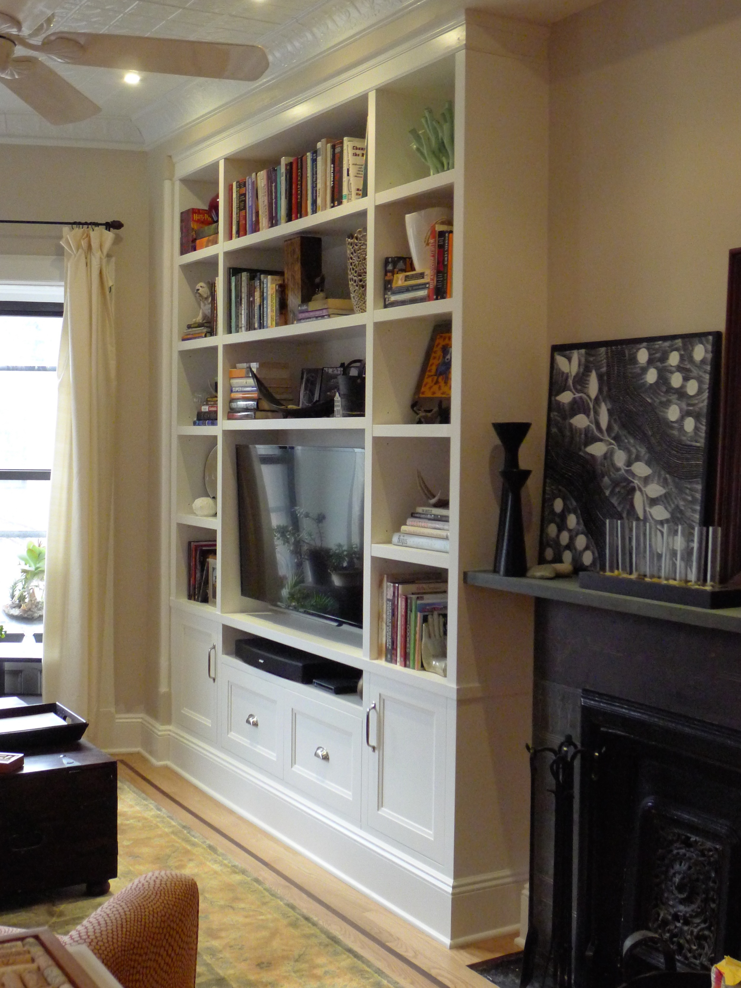Painted Wall Unit - Brooklyn NY