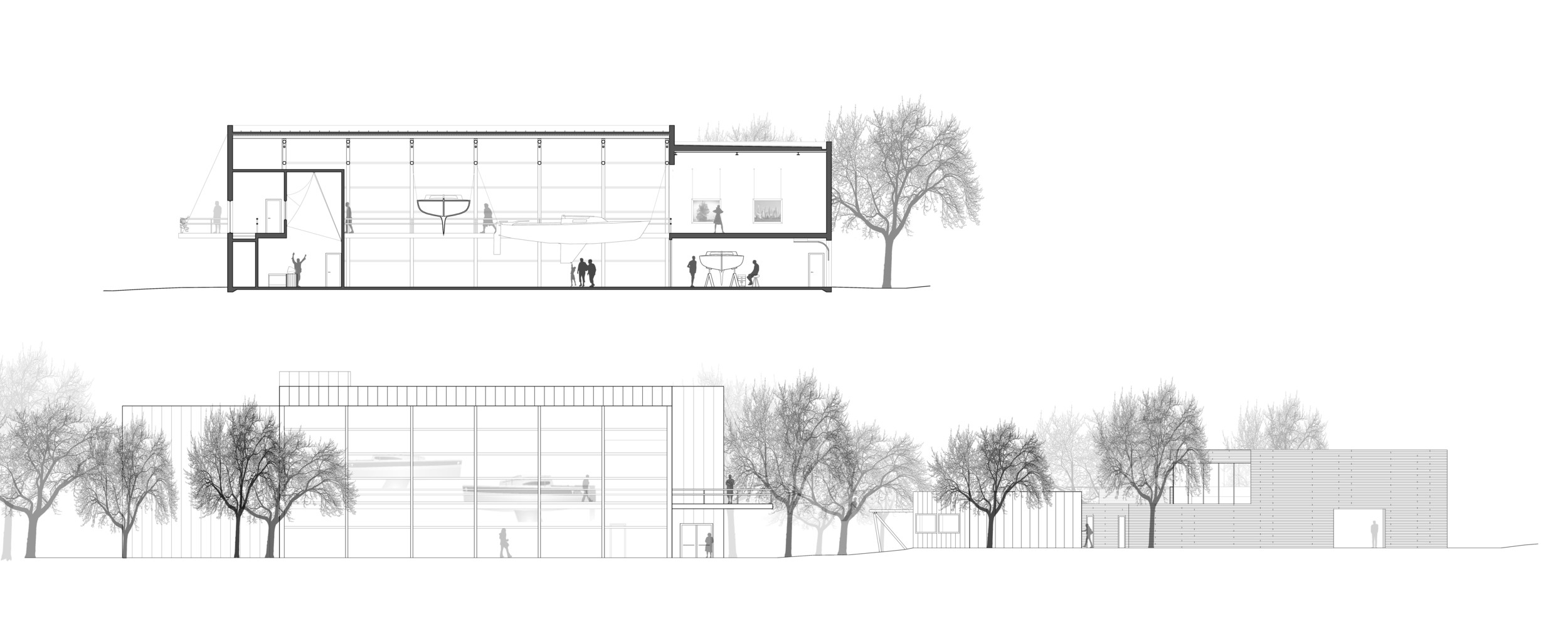Building Section & Elevation