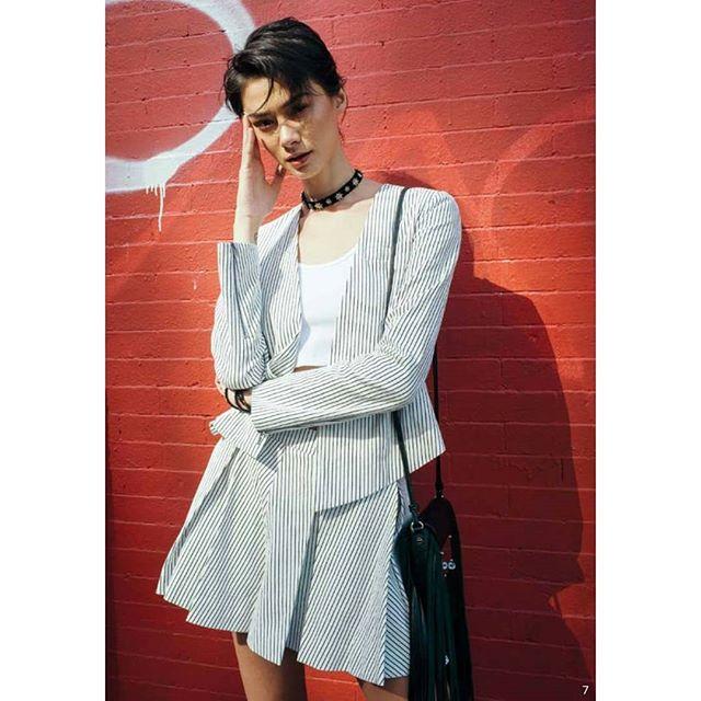 TBT  #leahnewyork #nylonkorea #soho #press #suit #model #fashion #shop