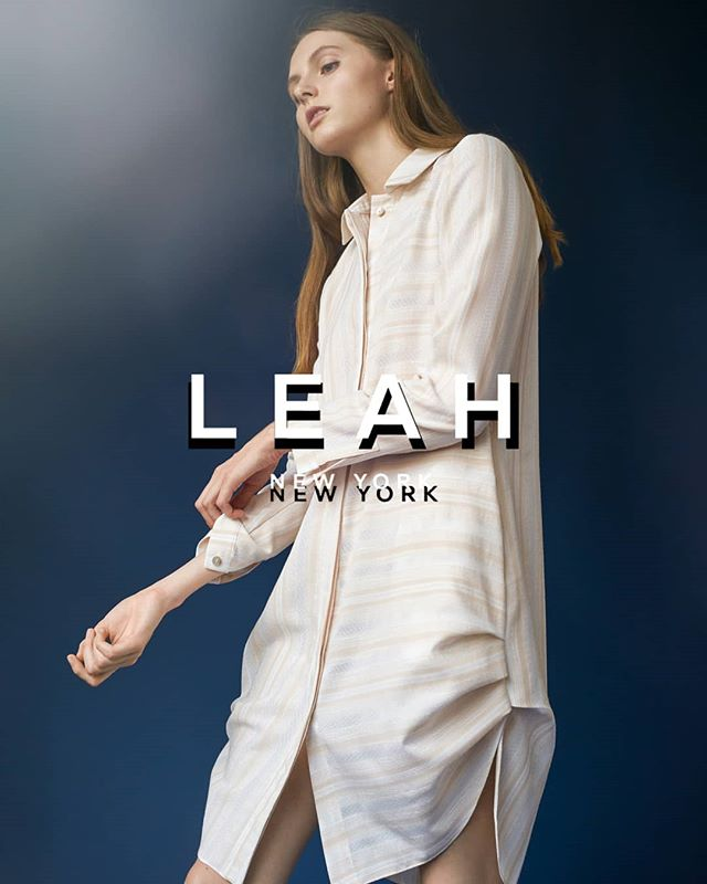 Signature look  #shop #leahnewyork #madeinny #fashion #ss18 #collection #lookbook #model #designers