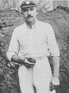 Bert Vogler: Apart from being a fantastic googly bowler, he also played a useful role with the bat