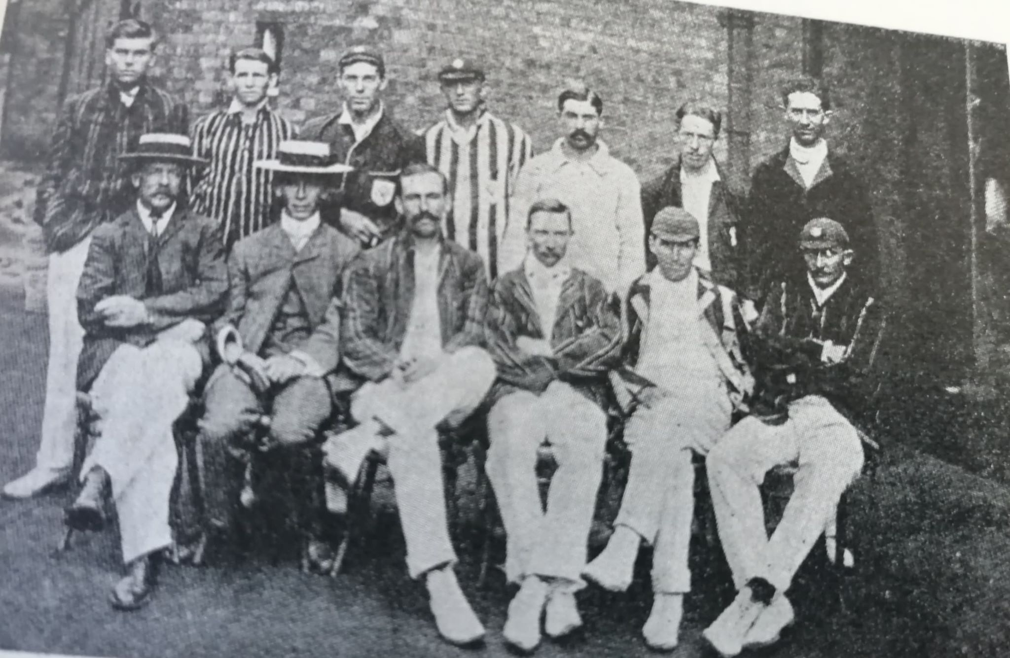 The Eastern Province team. Bert Vogler seated on extreme right.