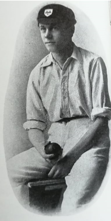 Chester as a young cricketer