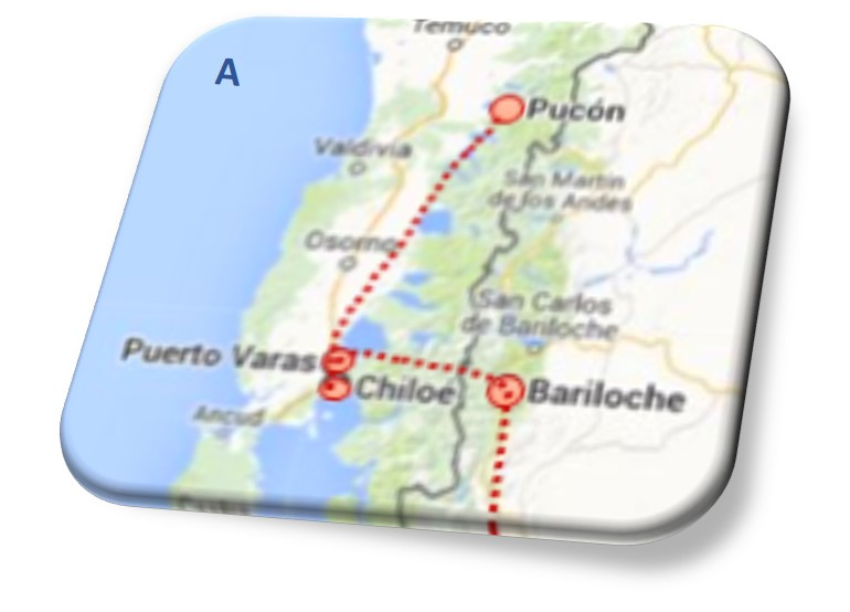 Part A Patagonia Route (see map above)
