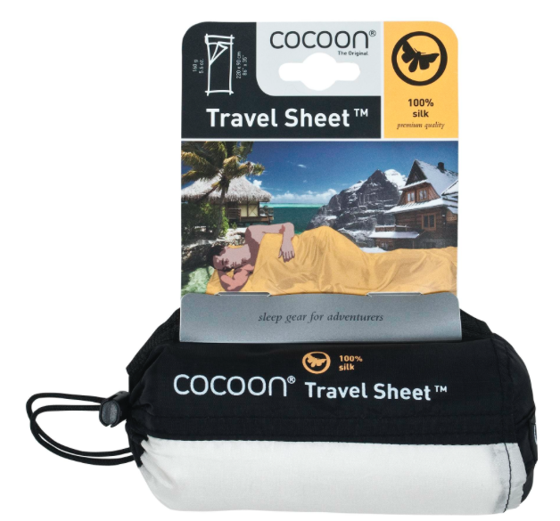 COCOON SILK LINER - IN COMPRESSION SACK