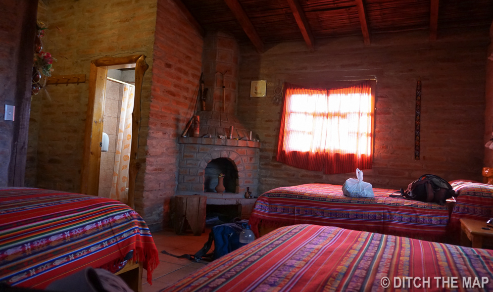 Our Beautiful Accommodations at our Homestay in the Santa Barbara Community, Ecuador