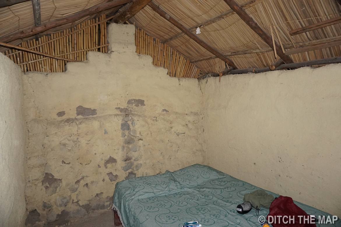 Our lodging in the Colca Canyon, Peru