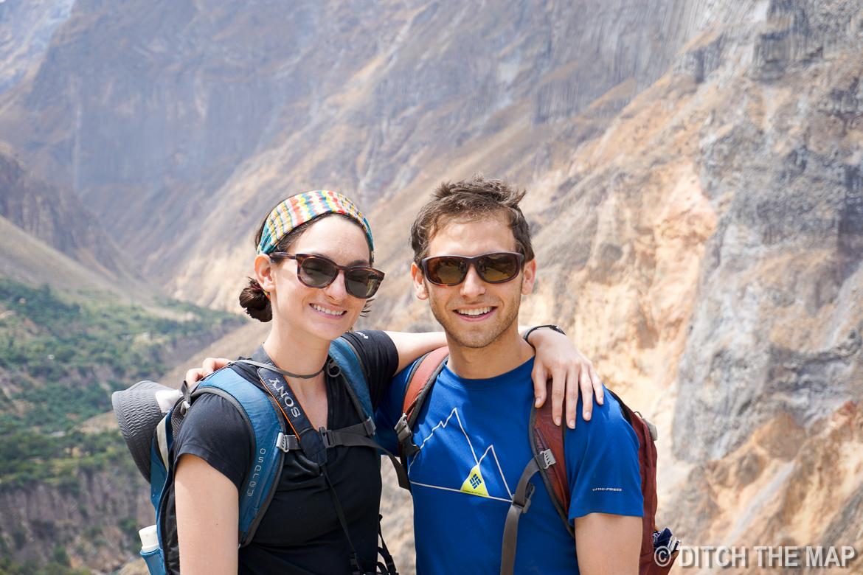 At the top of Colca Canyon, Peru