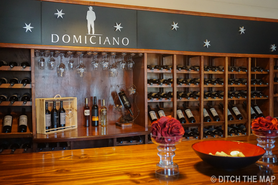 Visiting Dominicana Winery in Maipu, Argentina