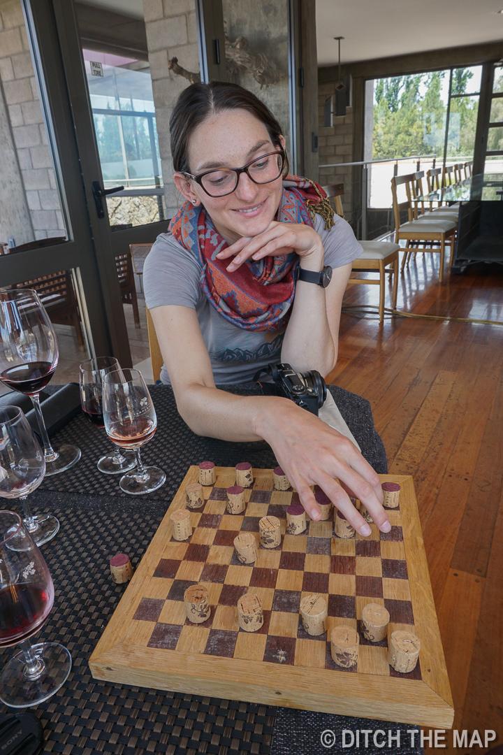Visiting Tempus Winery in Maipu, Argentina
