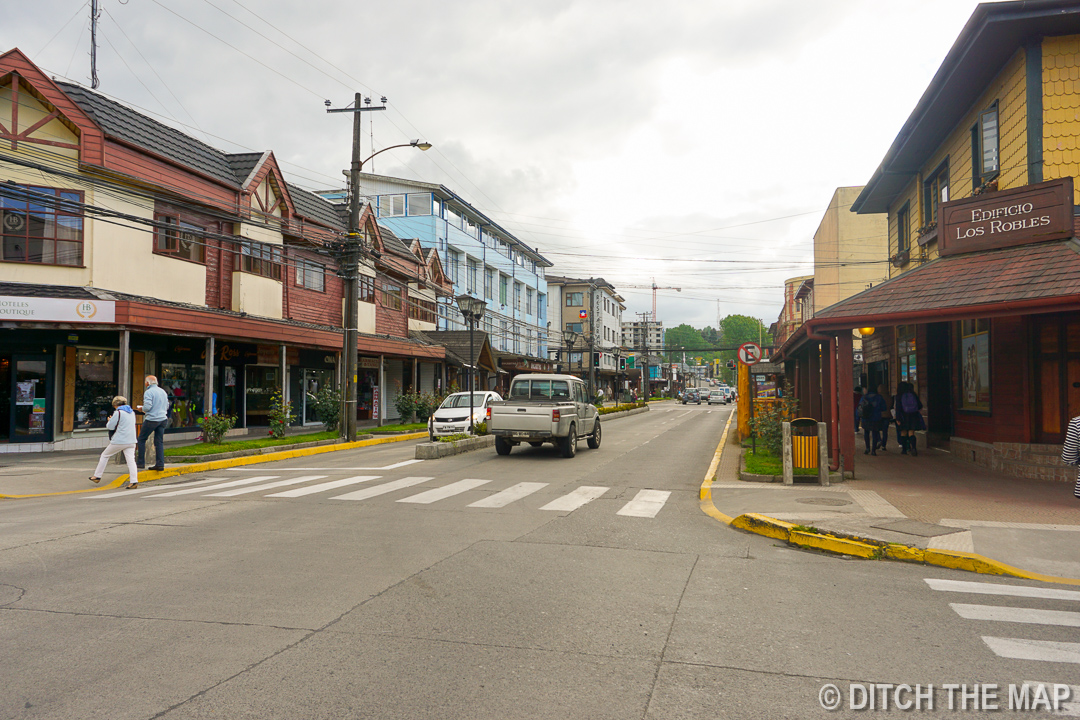 The city of Puerto Varas, Chile