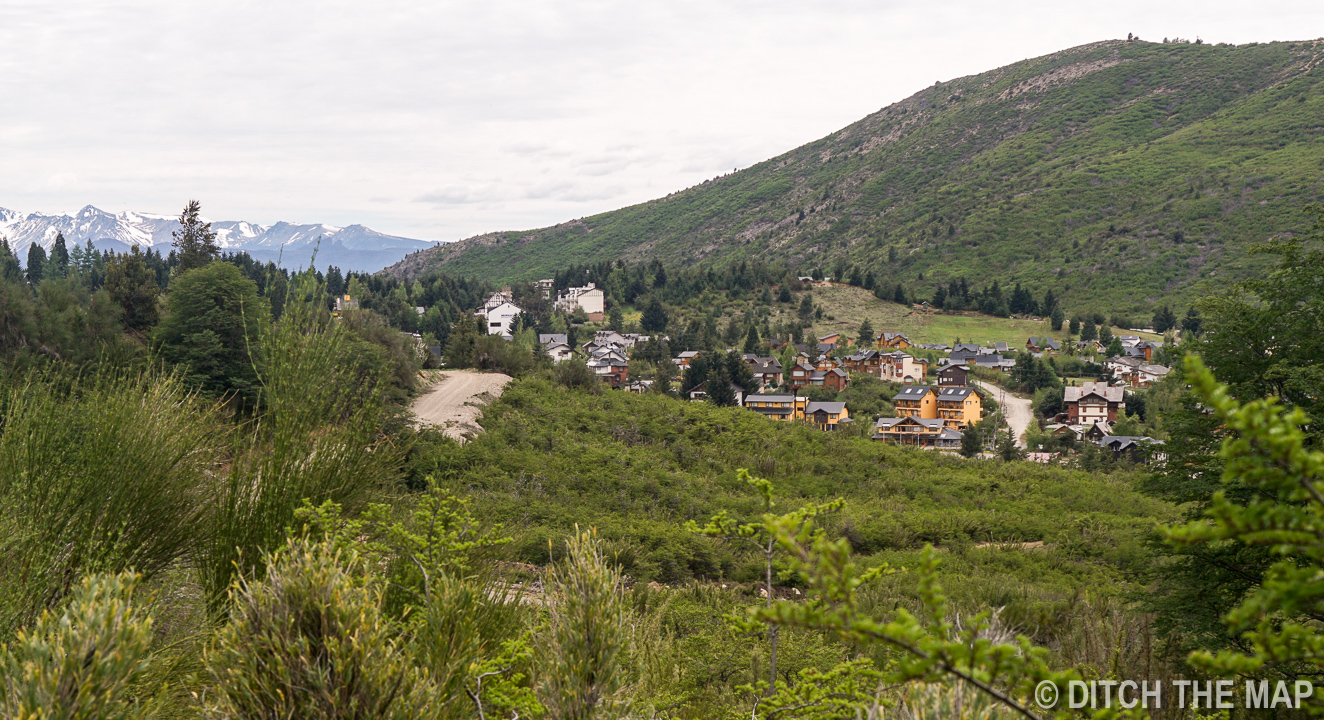The city of cathedral near Bariloche, Argentina