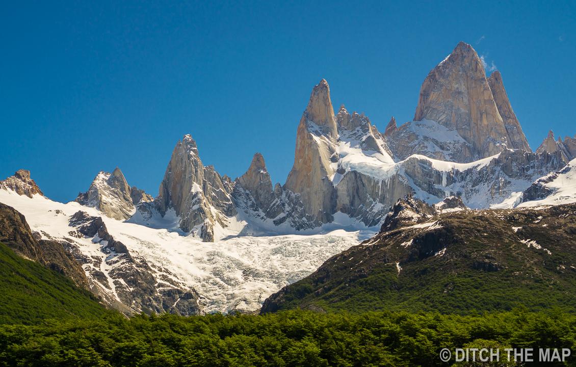 Another view of Mt. Fitz Roy in El Chalten, Argentina
