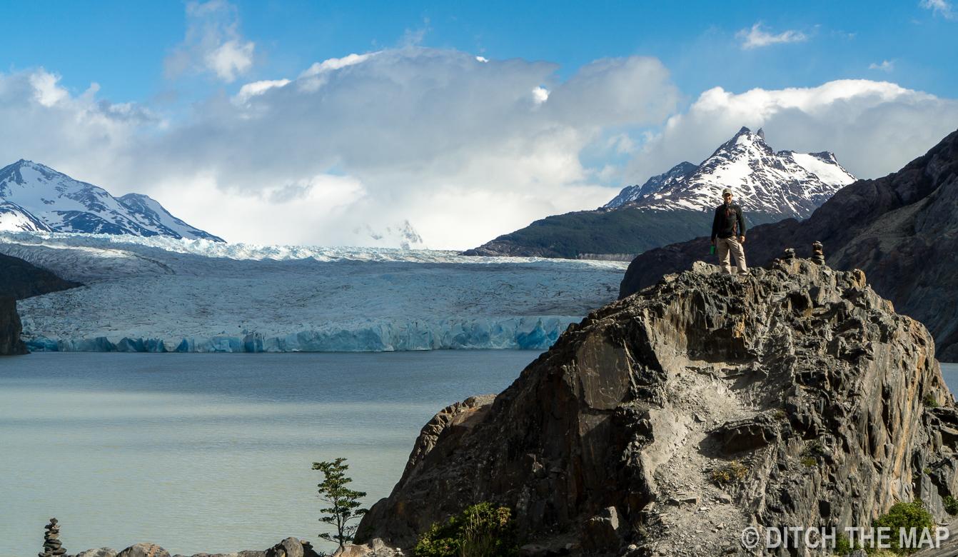 Glacier Grey in Torres del Paine, Chile