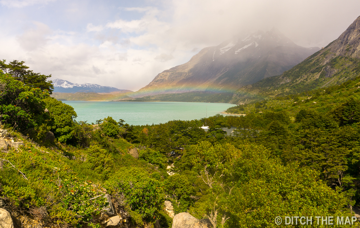 Starting our 4th day of the W-Trek in Torres del Paine, Chile