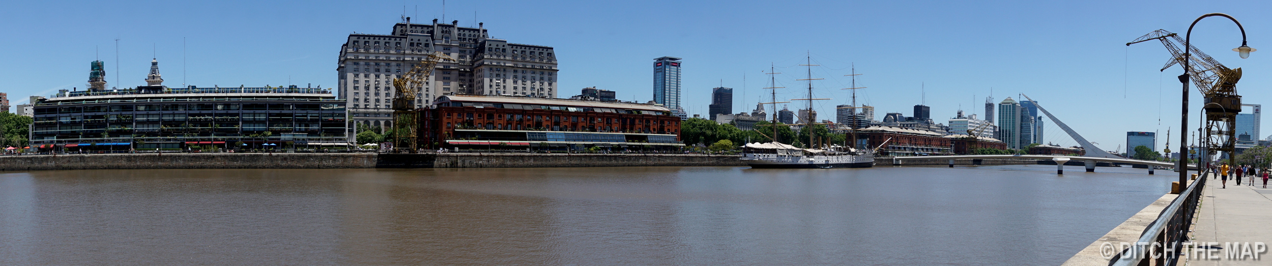 A view of Buenos Aires from Puerto Madero