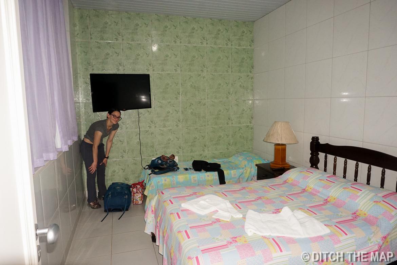 Our room in Rio de Janeiro, Brazil