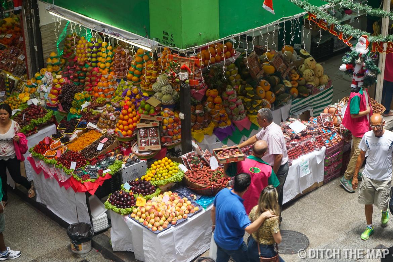 Municipal Market in Sao Paulo, Brazil