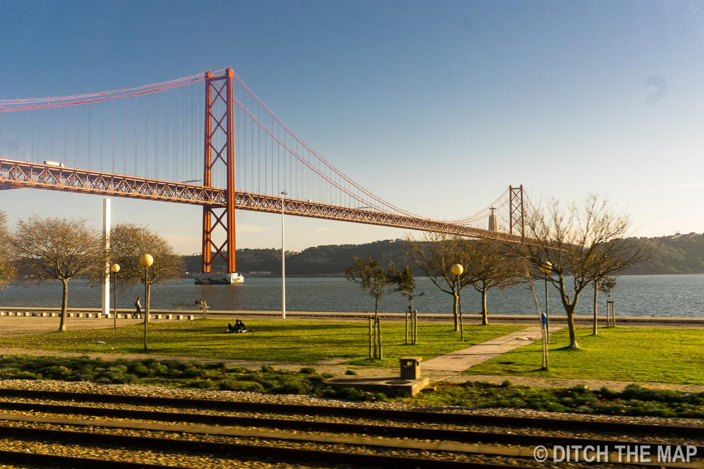 Bridge in Lisbon, Portugal