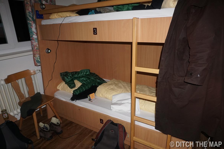 Our hostel in Salzburg, Austria