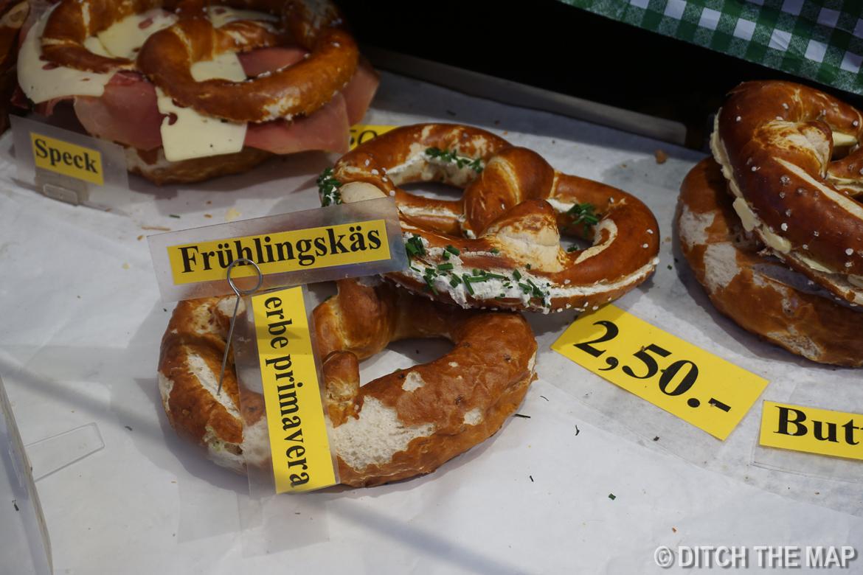 Markets around town in Salzburg, Austria