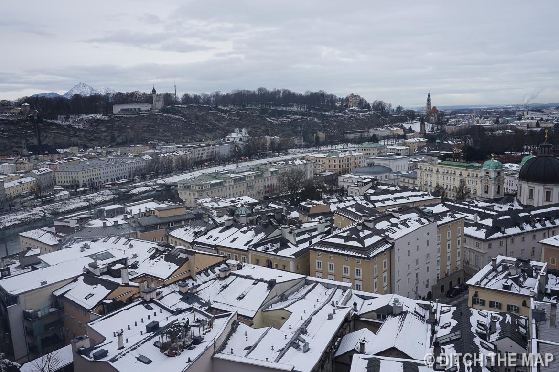Views in Salzburg, Austria