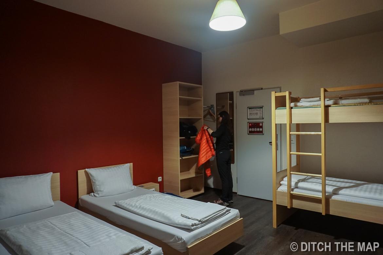 Our Hostel in Munich, Germany