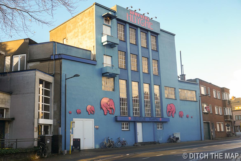 Huyghe Brewery in Gent, Belgium