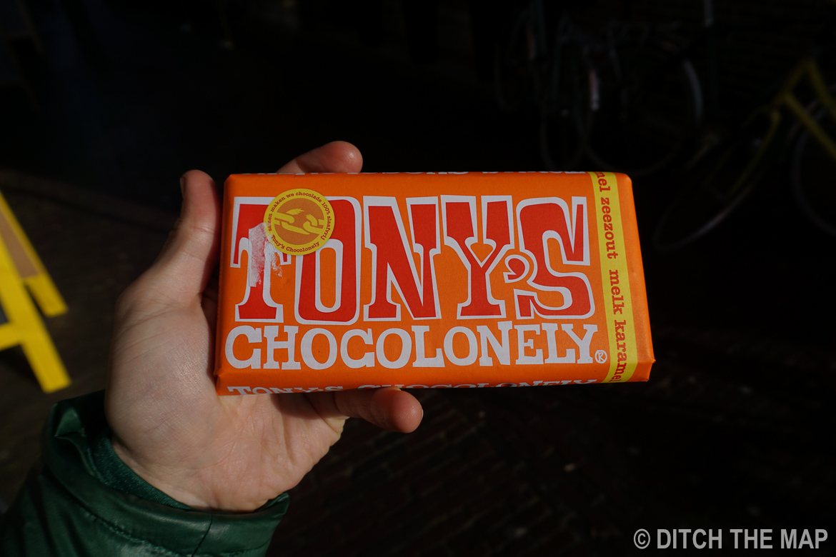 Tony's Chocolonely   , the  chocolate bar ever!