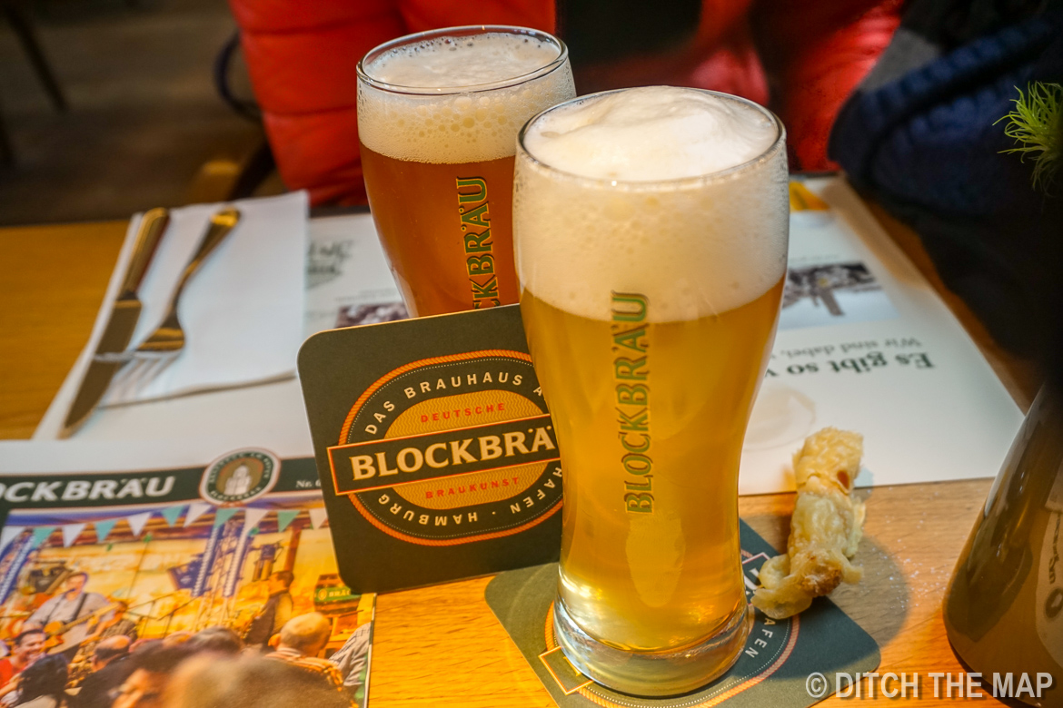 Blockbrau Brew House in Hamburg, Germany