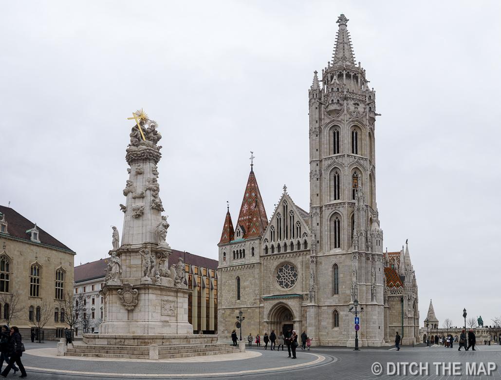 Matthias Church in Buda Region of Hungary